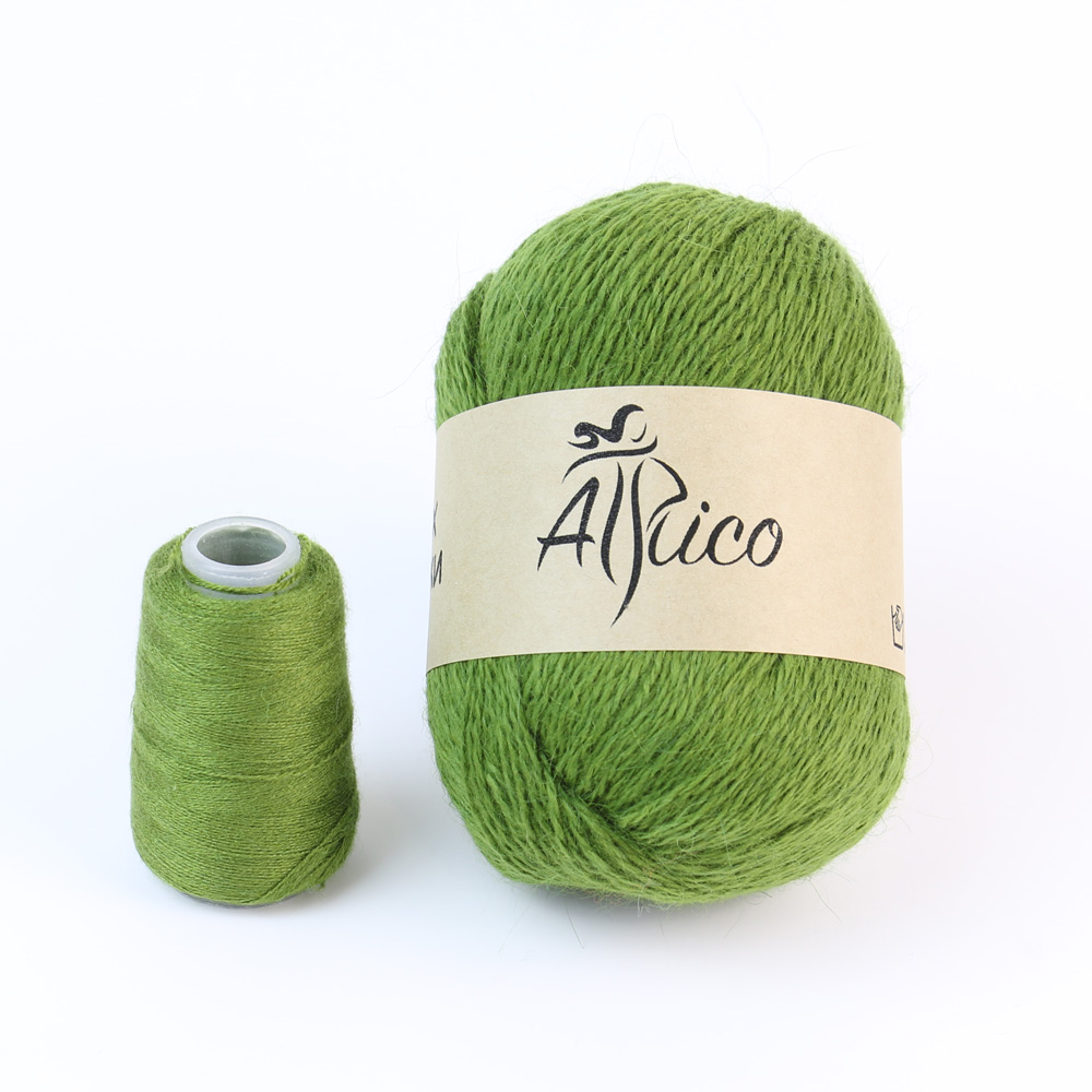 Пух норки «Бархатный мох» от бренда Atrico