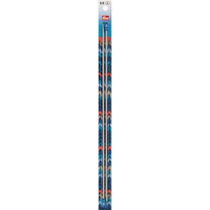 Спицы PRYM прямые алюминий d 3.0 мм 35 см