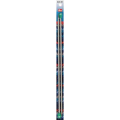 Спицы PRYM прямые алюминий d 4.5 мм 35 см